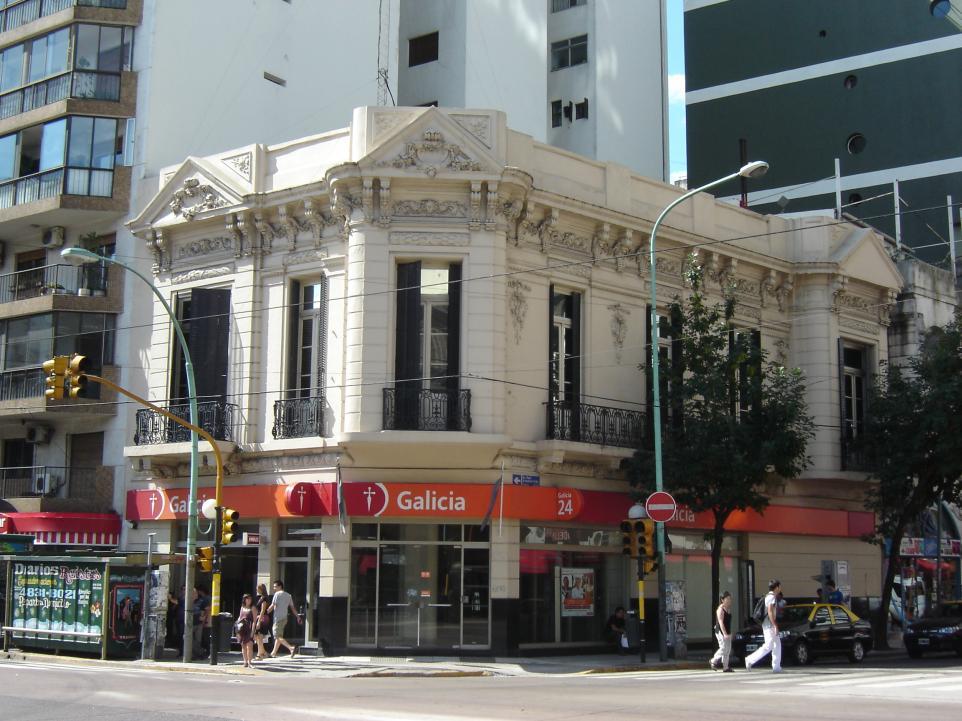 Banco galicia sucursal jard n bot nico palermo uugeo for Banco galicia busca cajeros