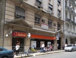 Banco Galicia sucursal calle San Martín
