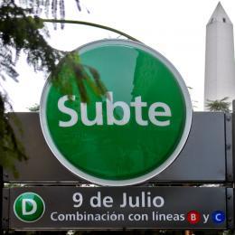 Estación 9 de Julio del Subte D